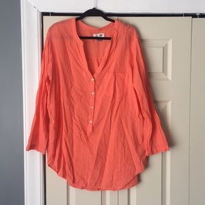 Coral Tunic Top Size XXL